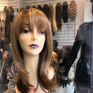 Accessories - Blonde #Pelucas wig 2216 bangs new skin top 2019